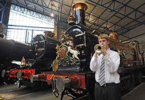 Remembrance day: National Railway Museum in York