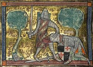 King Arthur manuscript up for sale   Art and design   The ...