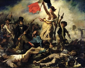 Top 10 protests: Liberty Leading the People by Eugene Delacroix