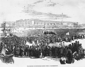 Top 10 protests: Chartist Meeting