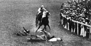 Top 10 protests: Emily Wilding Davison at the Derby