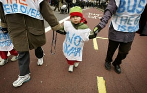 Top 10 protests: Anti-war protest