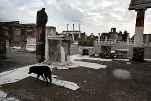 Pompei Ruins Collaps: The Forum, Pompei Italy