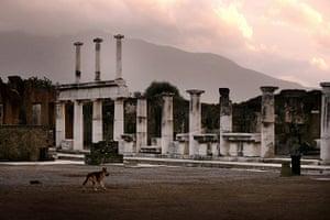 Pompei Ruins Collaps: The Forum, Pompeii, Italy