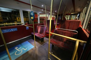 New Bus unveiled: The interior of the New Bus for London