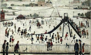 The Playground, by LS Lowry, Christie's auction