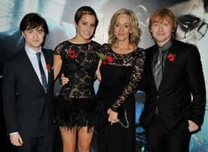 Harry Potter Premiere: Harry Potter And The Deathly Hallows: Part 1