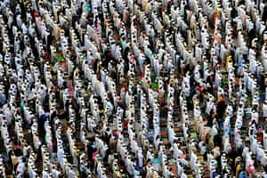 Hajj In Mecca: Muslim pilgrims perform Friday prayers in Mecca