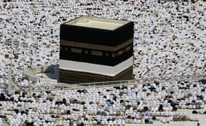 Hajj In Mecca: Muslim pilgrims pray inside the Grand Mosque, during the annual Hajj