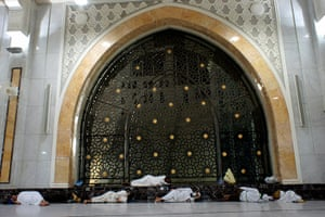 Hajj In Mecca: Muslim pilgrims sleep inside the Kaaba at the Grand Mosque