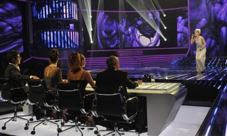 'The X Factor 10 Oct 2010 The Judges and Katie Waissel
