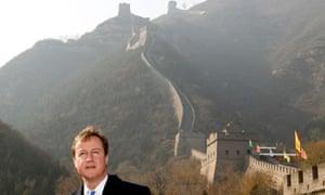 David Cameron at the Great Wall of China 10/11/2010