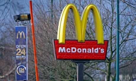A McDonald's in Nottingham