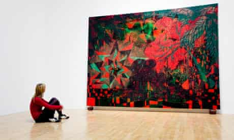 Chris Ofili's Afro Sunrise at Tate Britain