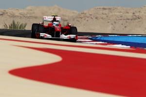 motor sport: F1 Grand Prix of Bahrain - Practice
