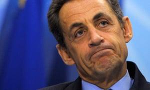 Nicolas Sarkozy at the G20 Seoul summit