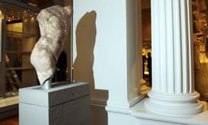 A Greek statue of Apollo at The Fitzwilliam Museum, Cambridge