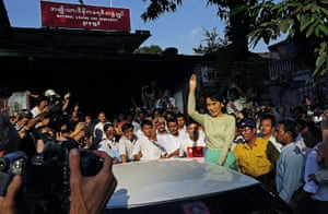 Aung San Suu Kyi release : Aung San Suu Kyi returned to work for the first time in years