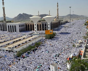 Hajj in Mecca: Muslim pilgrims attend the day of Arafat
