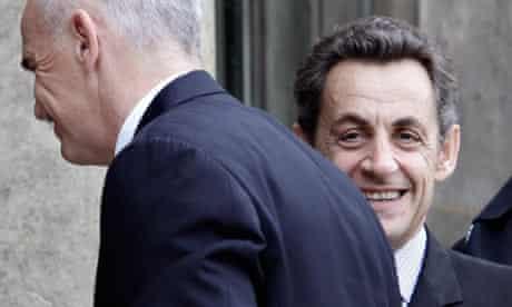 Nicolas Sarkozy, George Papandreou