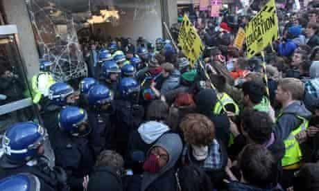 millbank student demonstration