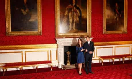 2 Prince William and his fiancee Kate Middleton