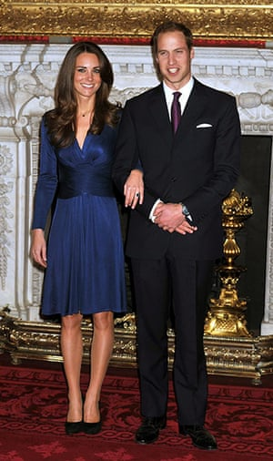 Engagement : Royal engagement Prince William and Kate Middleton