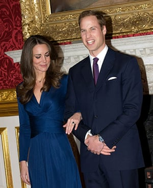 William's engagement: Prince William and Kate Middleton officially announce their engagement