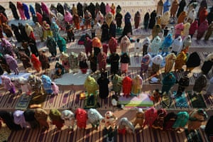 Eid al-Adha: Pakistani women offer Eid al-Adha prayer