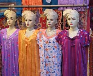In pictures: material: shop window in Varanasi
