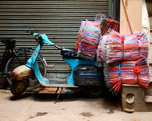 In pictures: material: streets of Old Delhi