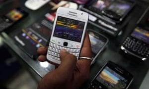 BlackBerry handset in Kolkata