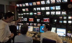 BBC News studio