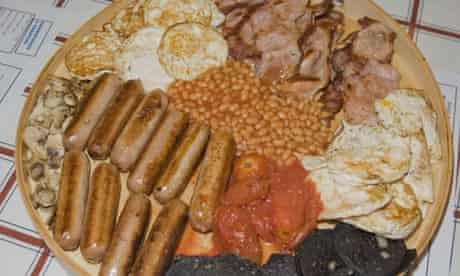 World's Biggest English Breakfast, Mario's Cafe, Westhoughton, Bolton, Britain - 22 Sep 2009
