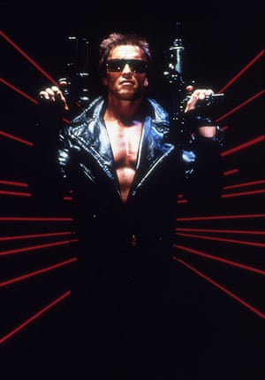 Arnold Schwarzenegger : Arnold Schwarzenegger in 'Terminator'  1984