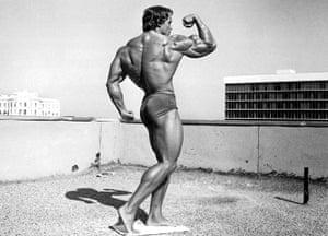 Arnold Schwarzenegger : Arnold Schwarzenegger In 'Pumping Iron' -1977