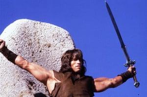 Arnold Schwarzenegger : Arnold Schwarzenegger in 1982's Conan The Barbarian
