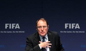Fifa's ethics committee chairman, Claudio Sulser,