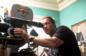 Arnold Schwarzenegger : Arnold Schwarzenegger In 1992 on set of Christmas in Conecticut