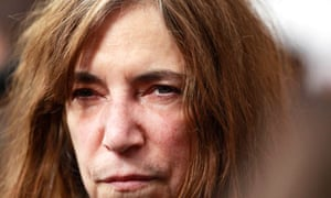 """Singer Patti Smith arrives for the premiere of the film """"The Next Three Days"""" in New York"""