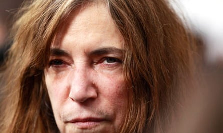 Singer Patti Smith arrives for the premiere of the film