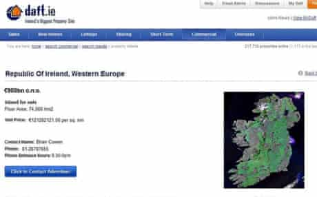 Ireland for sale on daft.ie