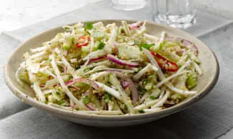 Apple and celeriac salad