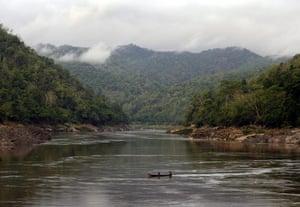 Endangered Tigers: SALWEEN RIVER