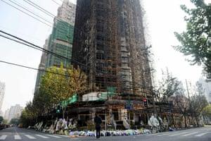 Shanghai Memorial: This photo taken on November 18, 2010 sh