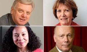 Michael Grade, Joan Bakewell, Oona King, Julian Fellows