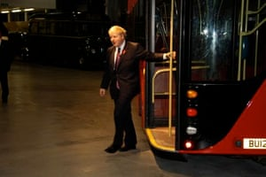Boris Johnson New Bus