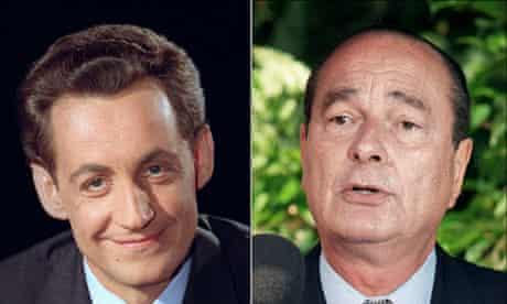 Sarkozy and Chirac
