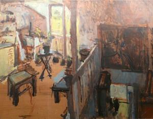 Sargy Mann: Studio at Lyndhurst Grove by Sargy Mann