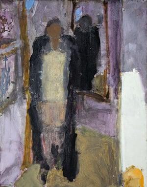 Sargy Mann: Frances in a Black Coat by Sargy Mann